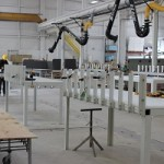 Interior Fabrication and Finishing Area