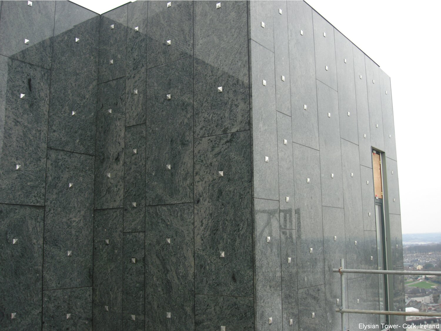 Black Marble Buildings : Stone panels inc residential photo gallery