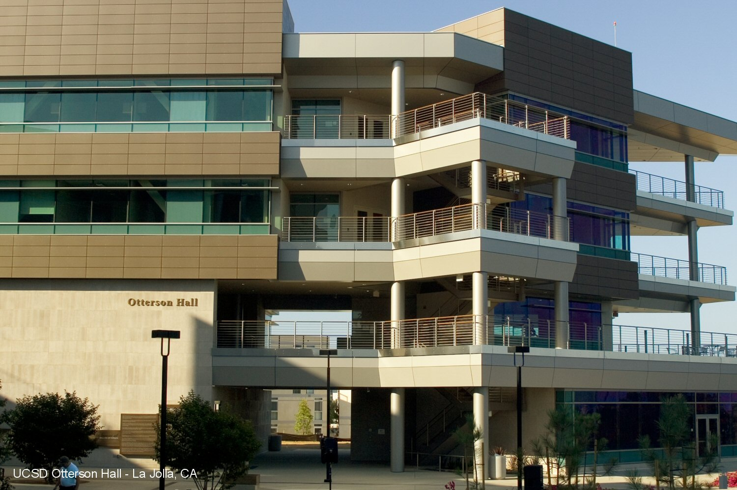 UCSD's Otterson Hall - San Diego